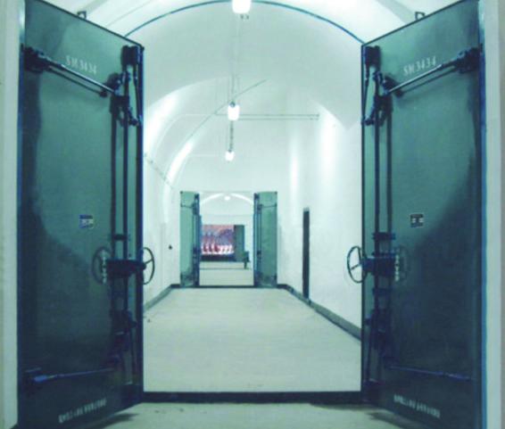 GHSFM钢结构活门槛双扇防护密闭门